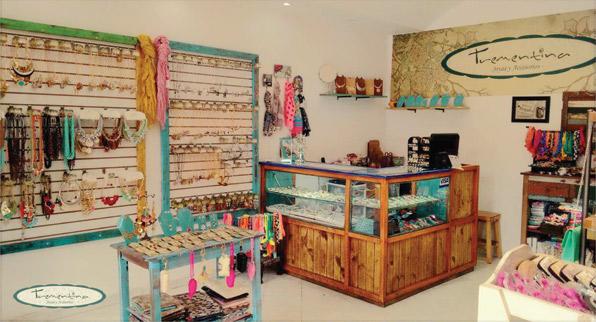 Trementina, joyas y accesorios