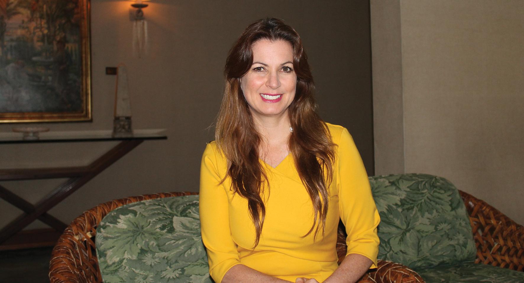 Carolina Angarita, directora de Fundación Conexión Bienestar