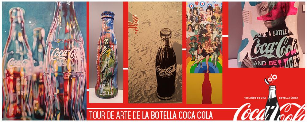 Tour de arte de la botella de Coca Cola