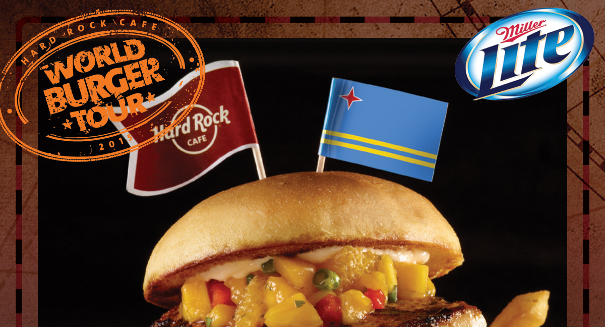 World Burguer Tour de Hard Rock café