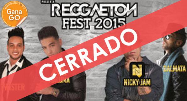 ¿Quieres ir al Reggaeton Fest?