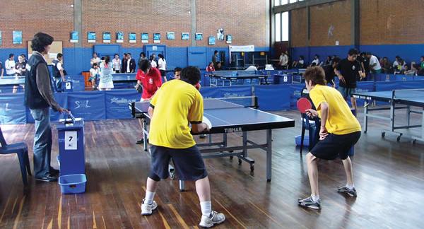 Liga de tenis de mesa de Bogotá