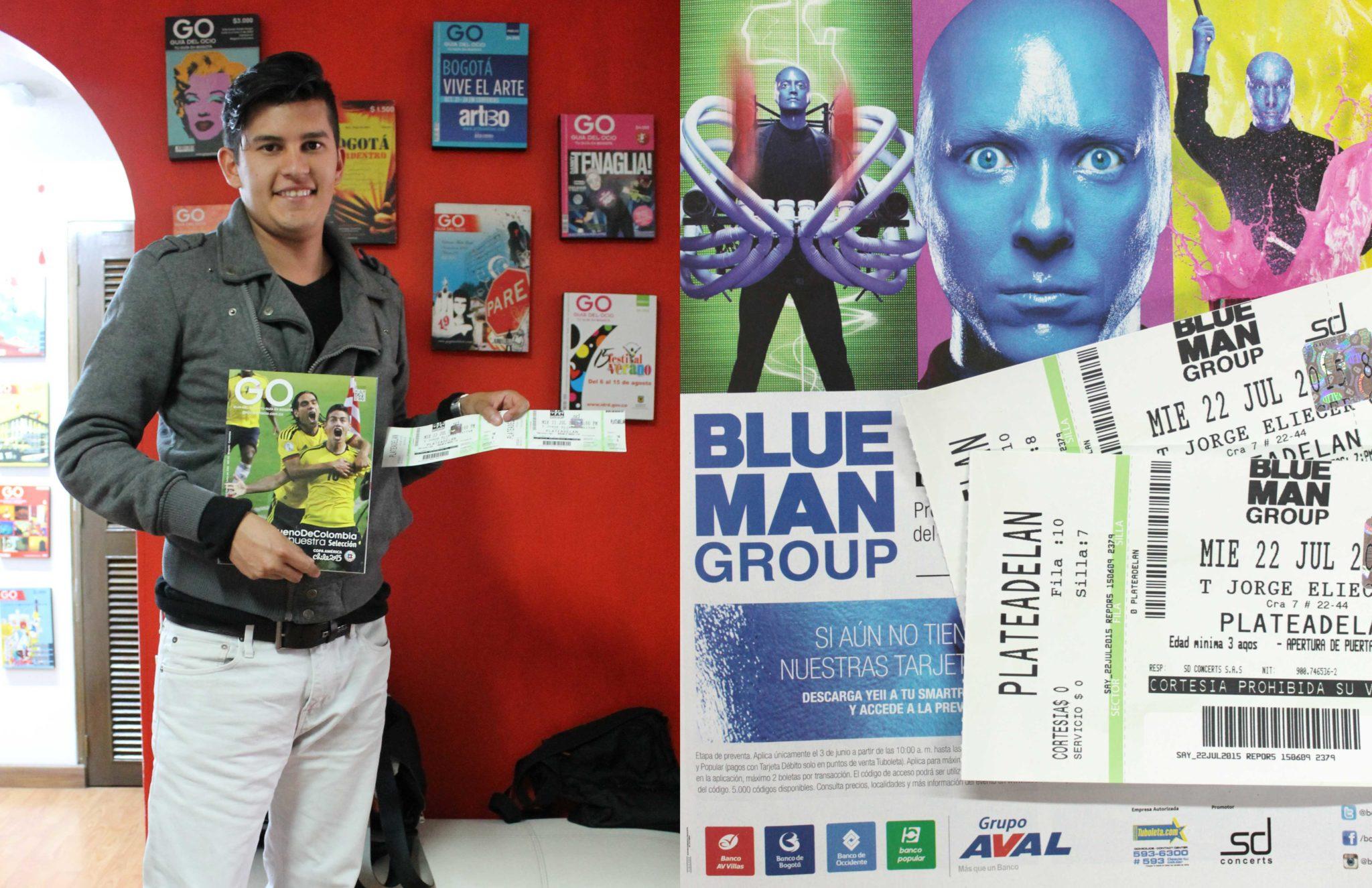 Ganadores Blue Man Group