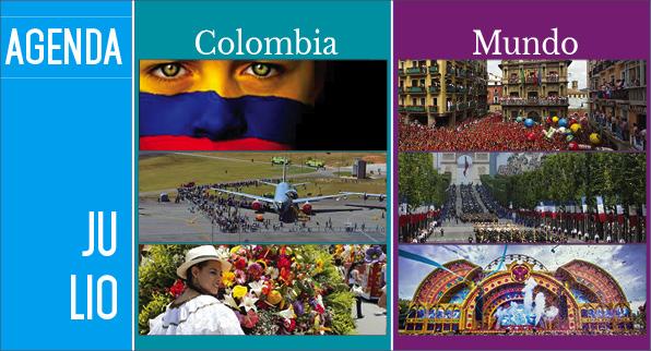 Agenda Colombia Mundo – Julio EDICIÓN 114