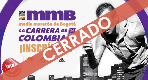 GO te lleva al media maratón de Bogotá