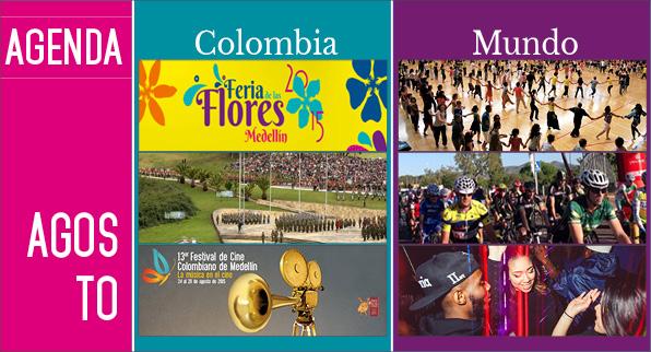 Agenda Colombia Mundo – Agosto EDICIÓN 115
