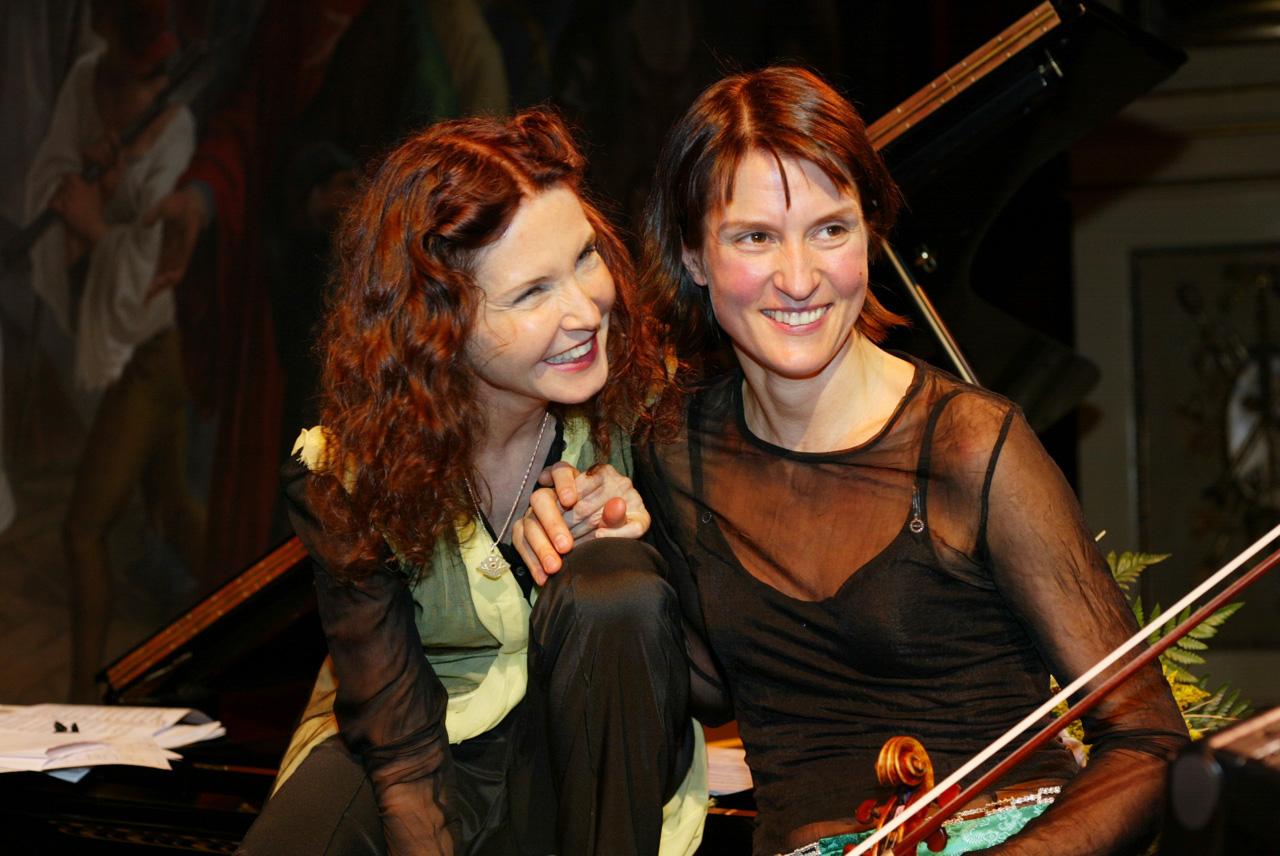Viktoria Mullova y Katia Labèque