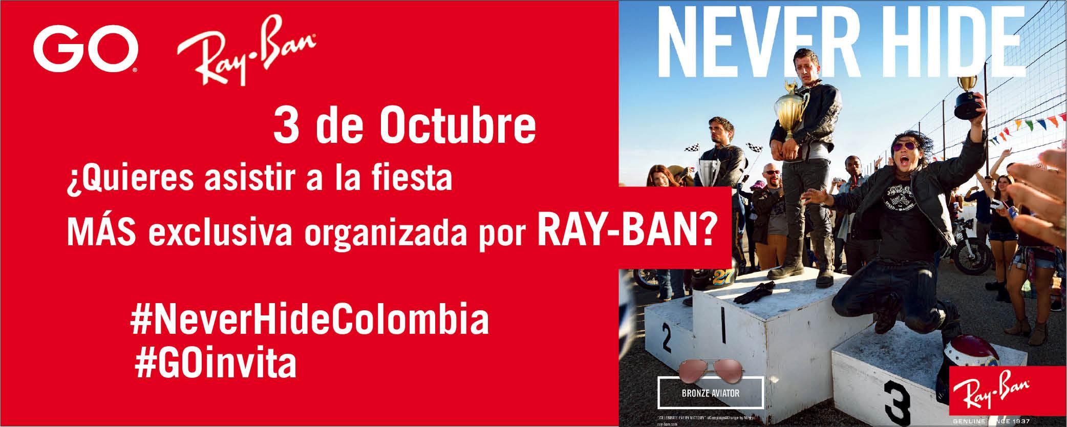 Never Hide Party muy pronto en Colombia