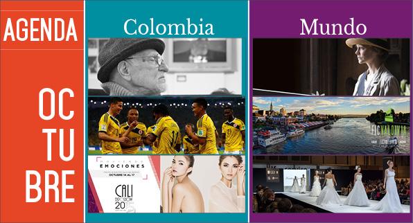 Agenda Colombia Mundo – Octubre EDICIÓN 117