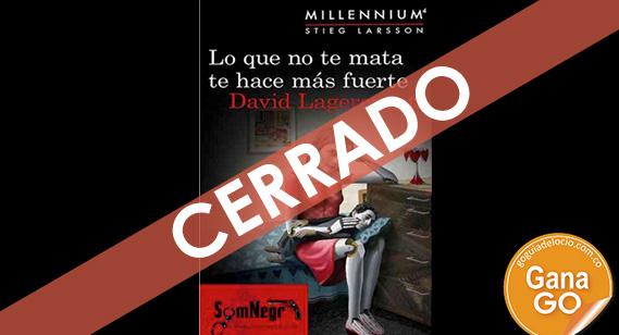 ¡El nuevo libro de la saga Millenium puede ser tuyo!