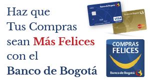 Haz que tus compras sean más felices con el Banco de Bogotá