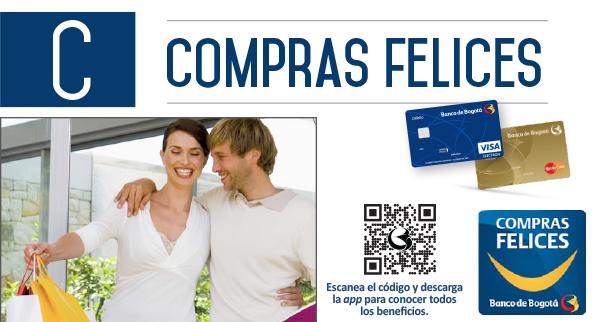 ¡Haz que tus compras sean Más Felices con el Banco de Bogotá!