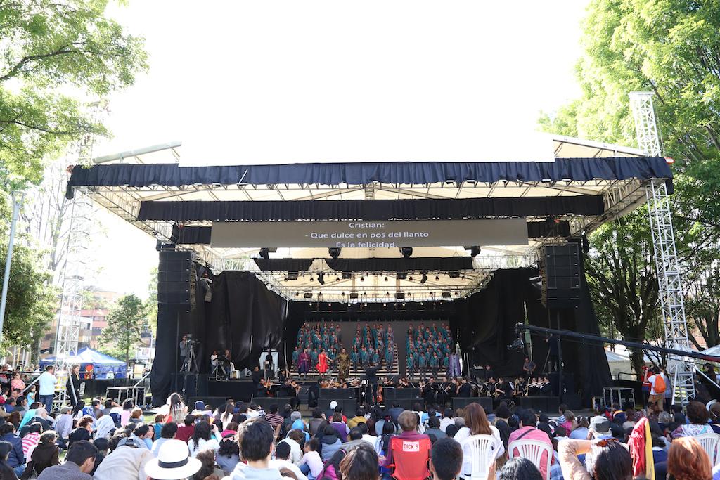 Lo mejor del XVIII Festival de Ópera, inicia en el Parque de la 93.