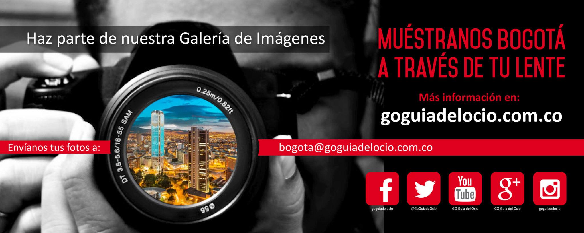 Muéstranos tu Bogotá  y haz parte de nuestra  Galería GO