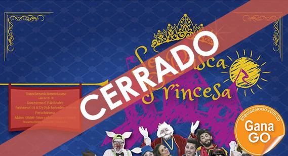 ¡Participa por entradas para Se busca princesa y disfruta de un domingo con tus pequeños!