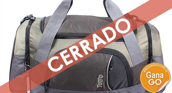 ¡Entra y participa por una maleta Totto, ideal para las próximas vacaciones!