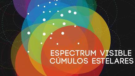 Espectrum visible. Cúmulos estelares