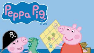 Peppa Pig, la búsqueda del tesoro
