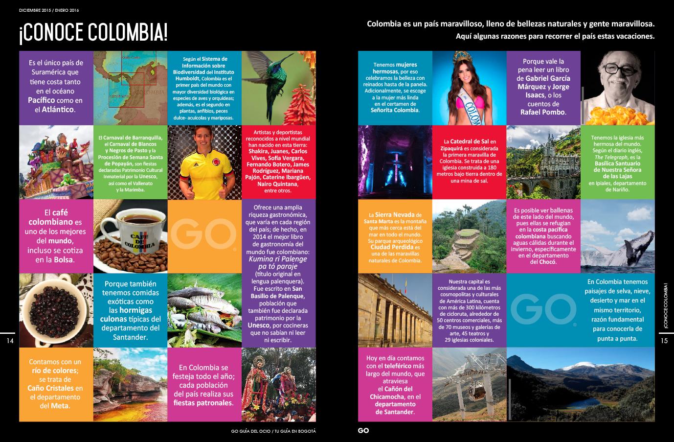 ¡Conoce Colombia!