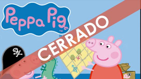 ¡Disfruta con tus pequeños de Peppa Pig, la búsqueda del tesoro!