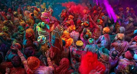 Holi, fiesta de los colores