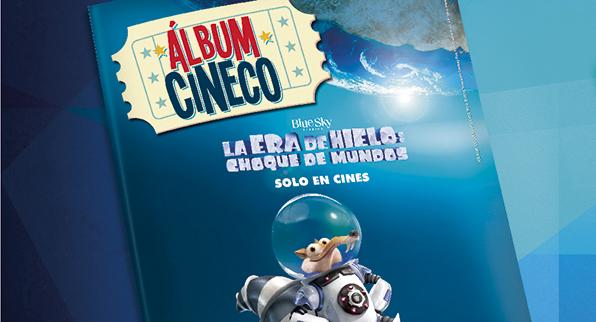 ALBUM CINE COLOMBIA