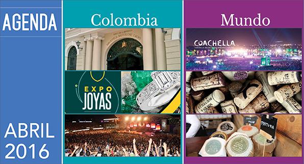 AGENDA COLOMBIA – MUNDO ABRIL