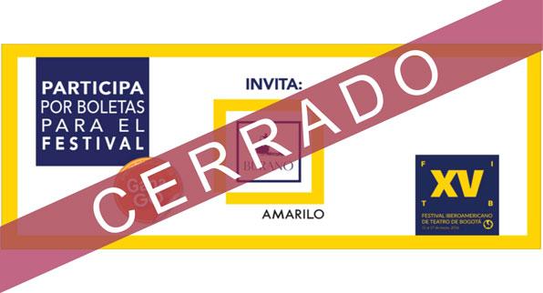 AMARILO TE INVITA A VIVIR EL FESTIVAL DE TEATRO, PARTICIPA POR BOLETAS AQUÍ: