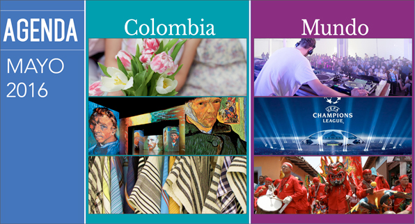 AGENDA COLOMBIA-MUNDO MAYO 2016