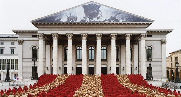 SPENCER TUNICK EN COLOMBIA