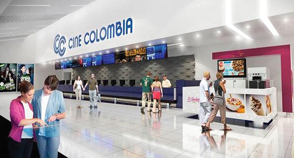 BONOS CINE COLOMBIA