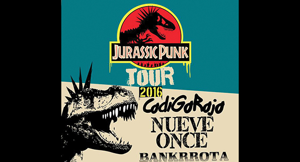 JURASSIC PUNK TOUR