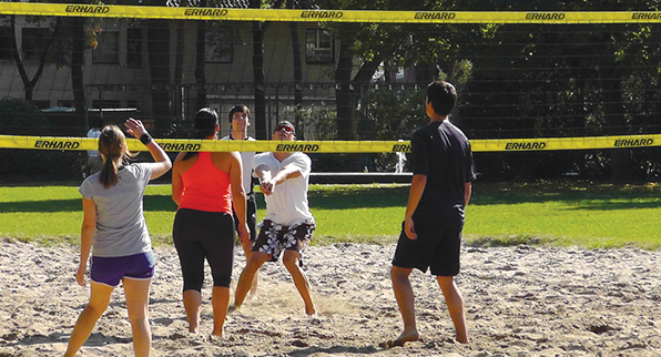 CURSOS DE VOLEY PLAYA
