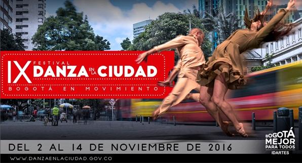 IX FESTIVAL DANZA EN LA CIUDAD – Bogotá en Movimiento
