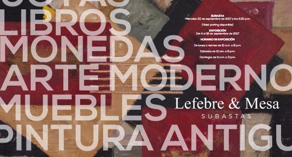 LEFEBRE & MESA SUBASTAS