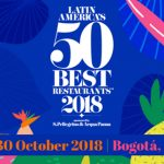LATIN AMÉRICA'S 50 BEST RESTAURANTS 2018