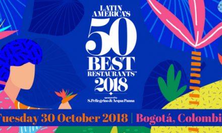 LATIN AMÉRICA'S 50 BEST RESTAURANTS 2018