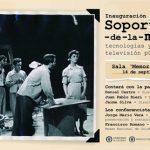 SOPORTES DE LA MEMORIA