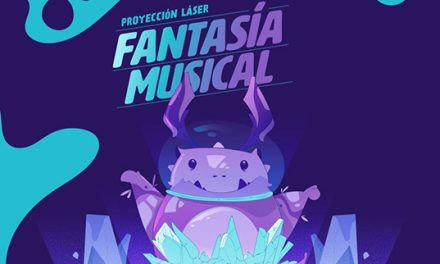 PROYECCIÓN LÁSER FANTASÍA MUSICAL