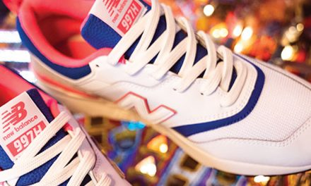 """BACK TO THE 90'S"" CON NEW BALANCE"