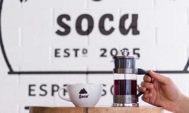 CAFÉ SOCA, CON RECONOCIMIENTO INTERNACIONAL