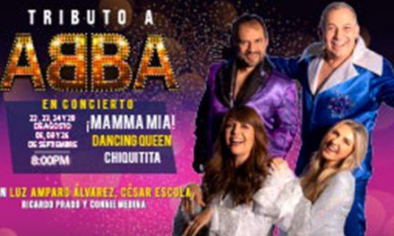 TRIBUTO A ABBA EN CONCIERTO